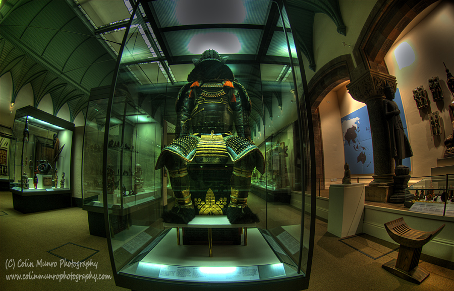 Samuri, Royal Albert Memorial Museum (RAMM) Exeter, Devon. Colin Munro Photography. www.colinmunrophotography.com