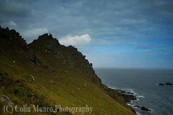 Rocky headland, Start Point, South Devon, England. Image MBI000921.