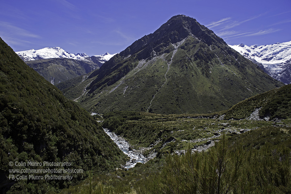 Rees Dart Valley, Mount Aspiring National Park, Southern Alps, New Zealand, copyright Colin Munro Photography